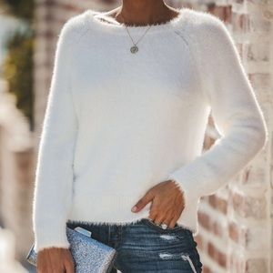Boutique Fuzzy Sweater NWTGS